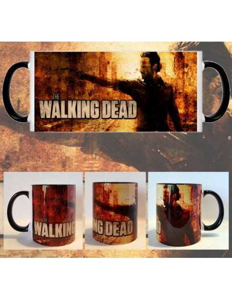 Taza The walking Dead Rick Grimes Sombras