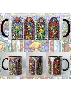 Taza The Legend Of Zelda Vidrieras
