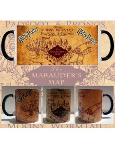 Taza harry Potter Mapa merodeador