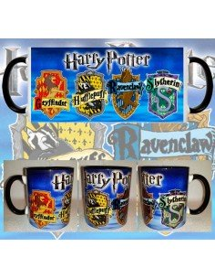 Taza Harry Potter Emblemas