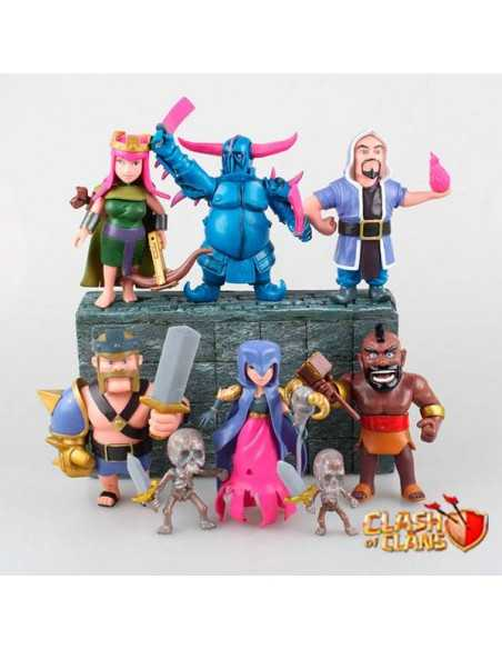 Figuras Clash Of Clans Pack