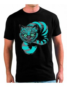 Camiseta unisex Cheshire - Art Blue