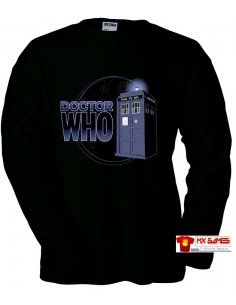 "Camiseta Doctor who manga larga ""Cabin"""