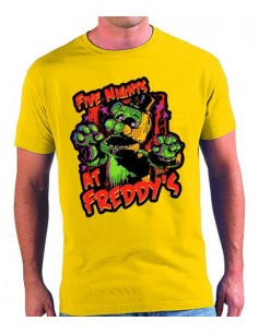 Camiseta five nights at freddy's Colors