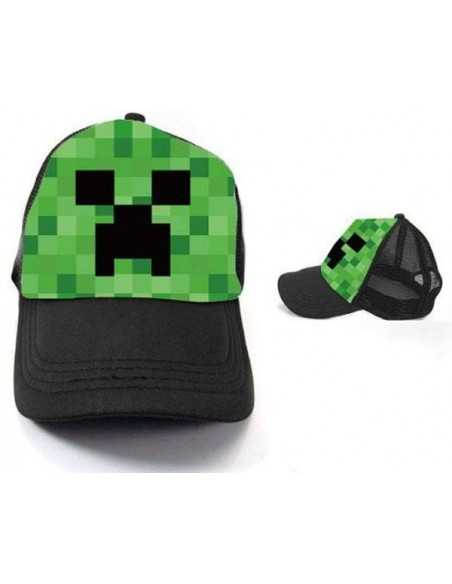 Gorra Creeper Minecraft Pixels