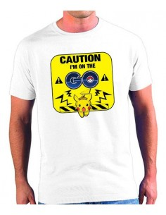 Camiseta Pokémon Go Caution