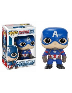 Figura Funko Pop Capitán América Civil war