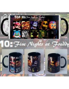 Taza Five nights at freddy FNAF TOP10