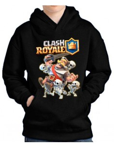 Sudadera Clash Royale Caballero & Skeletons