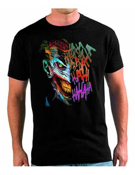 Camiseta Batman Joker Colors