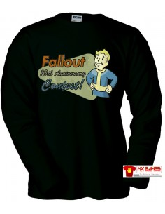 Camiseta Fallout New Vegas, Vault boy contest