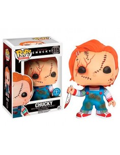Figura Funko Pop Chucky Edición Exclusiva cicatrices