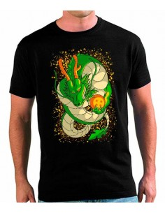 Camiseta Dragon Ball Z Shenron Art