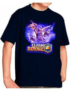 Camiseta Clash Royale Bruja
