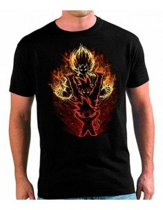 Camiseta Dragon Ball Z Goku Evolution Saiyan