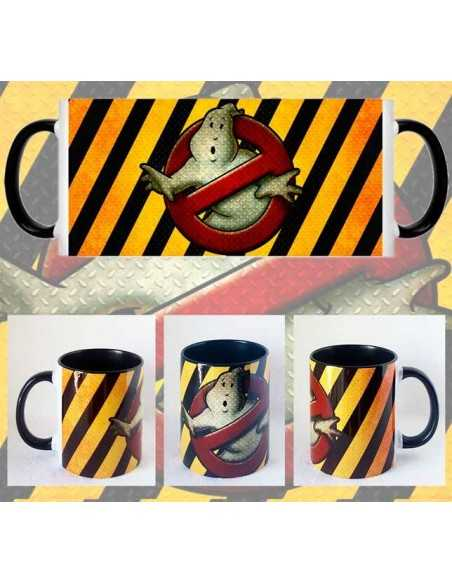 Taza Los Cazafantasmas Caution
