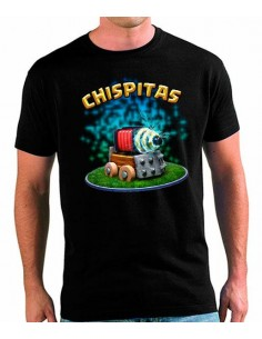 Camiseta Clash Royale Chispitas