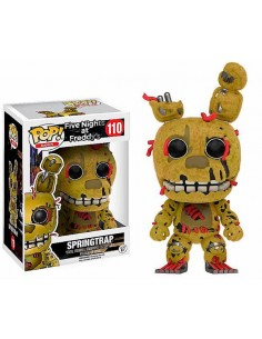 Figura Springtrap Five nights at Freddy Terciopelo