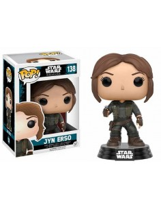 Figura Pop Star Wars Rogue One Jyn Erso Rebelde