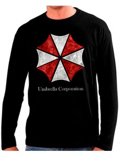 Camiseta manga larga Umbrella Corporation -Resident Evil-