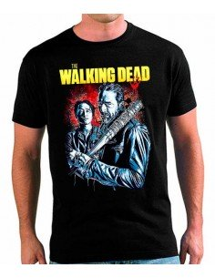 Camiseta The Walking Dead Negan y Glenn