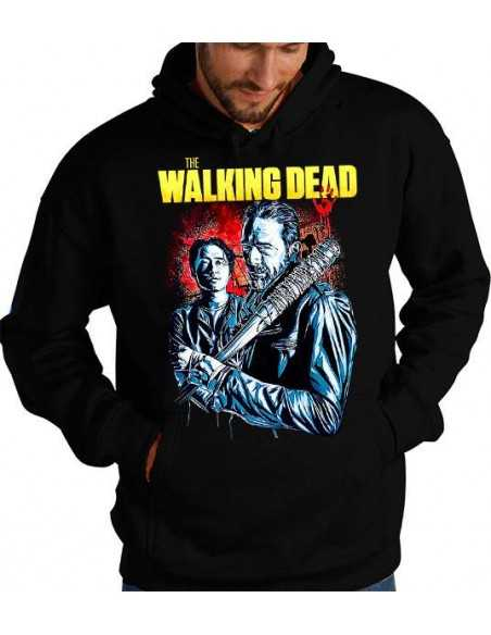 Sudadera The Walking Dead Glenn y Negan