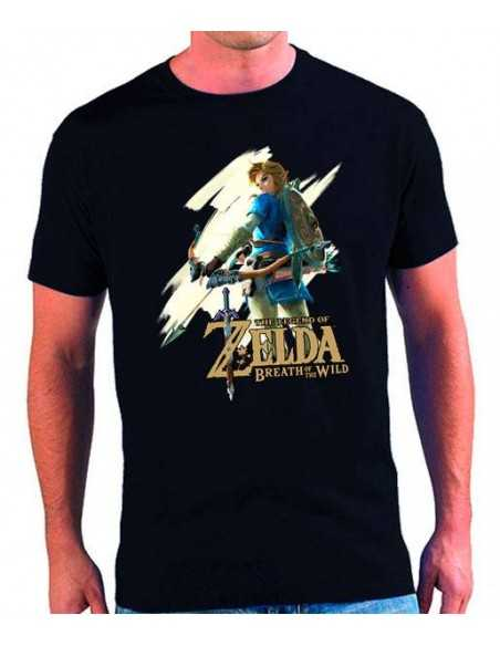 Camiseta Zelda Breath of the Wild