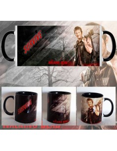 Taza Daryl Dixon Survive The Walking Dead