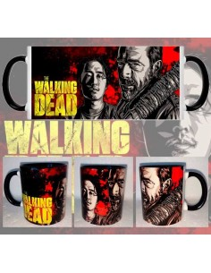Taza The Walking Dead Negan Y Glenn