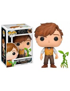 Funko Pop Newt Scamander con Pickett