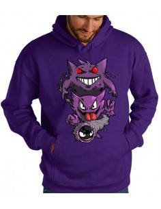 Sudadera Pokémon Gengar Evolution