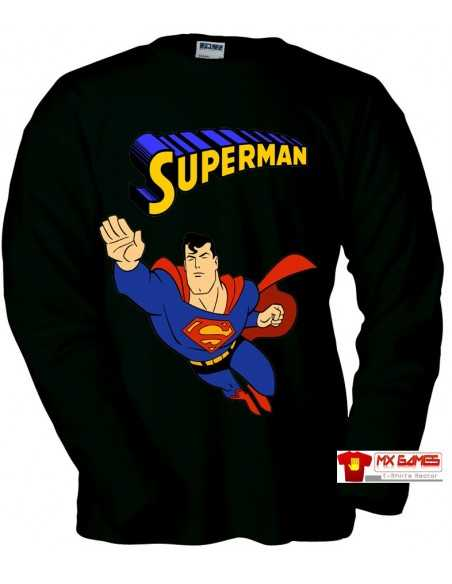 Camiseta Superman (Retrogame) Negra