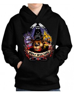 Sudadera Five nights at Freddy´s contratados