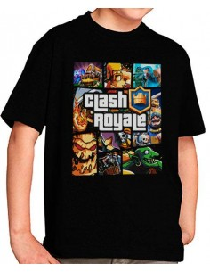 Camiseta Clash Royale GTA