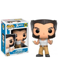 Funko Pop Logan X-Men con camiseta tirantes