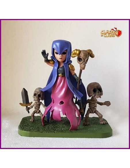 Figura Clash of Clans Bruja Con Skeletons