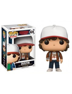 Funko Pop! Dustin chaqueta marrón Stranger Things