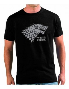 Camiseta Juego de Tronos Stark Winter is coming
