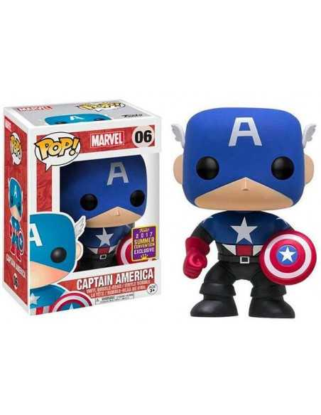 Funko Pop Capitán América Exclusiva scsd 2017