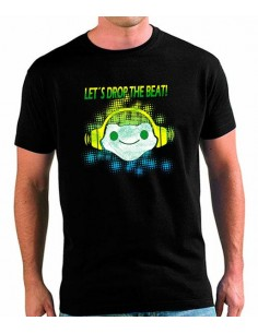 Camiseta Overwatch Lucio let's drop the beat