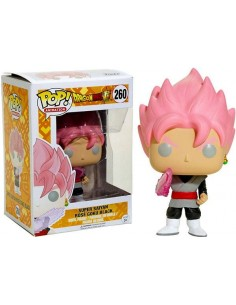Figura Pop Son Goku Super Saiyan Rosa