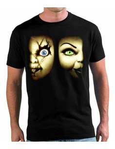 Camiseta Chucky y Tiffany