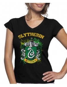 Camiseta de mujer Slytherin Art Harry Potter