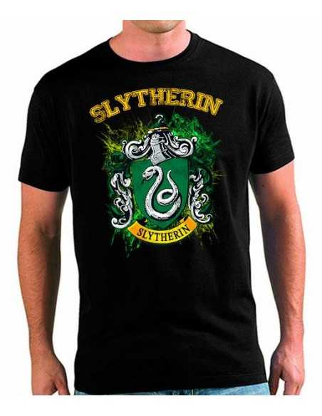 Camiseta Slytherin Art unisex
