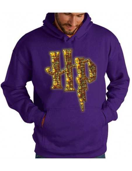 Sudadera Logo harry Potter Nombres