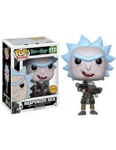 Funko Rick y Morty Weaponized Rick Chase edition