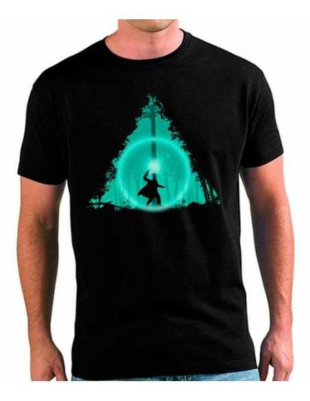 Camiseta Harry Potter Reliquias de la Muerte Bosque