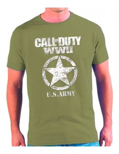 Camiseta Call of Duty WWII U.S.ARMY