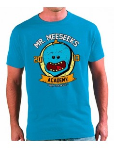 Camiseta Rick y Morty Academia Mr Meeseeks