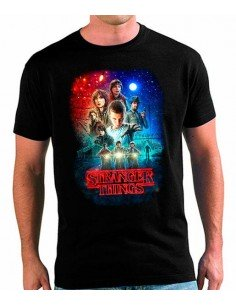 Camiseta Stranger Things Poster